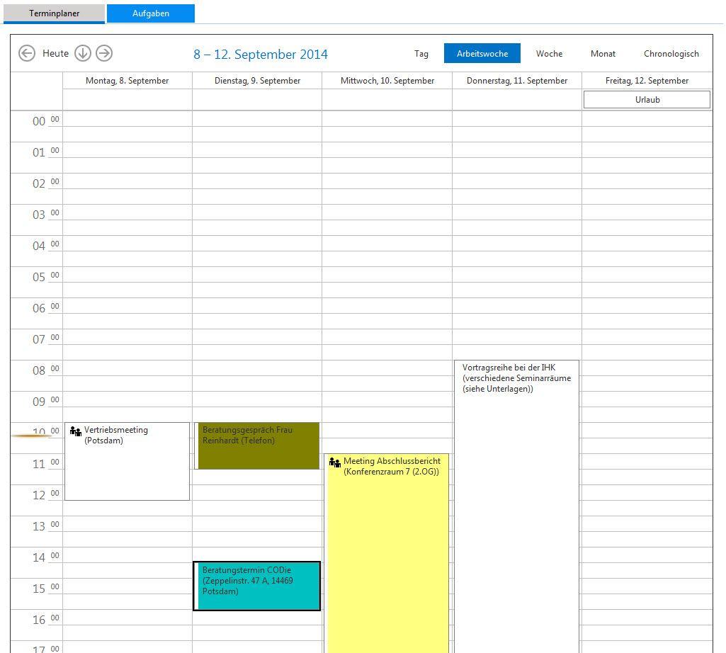Der Terminplaner unserer Online Software für Versciherungsmakler erhielt ein neues Design